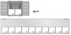 کانتینر ۴۰ فوتی صادرات قیر با جامبو بگ